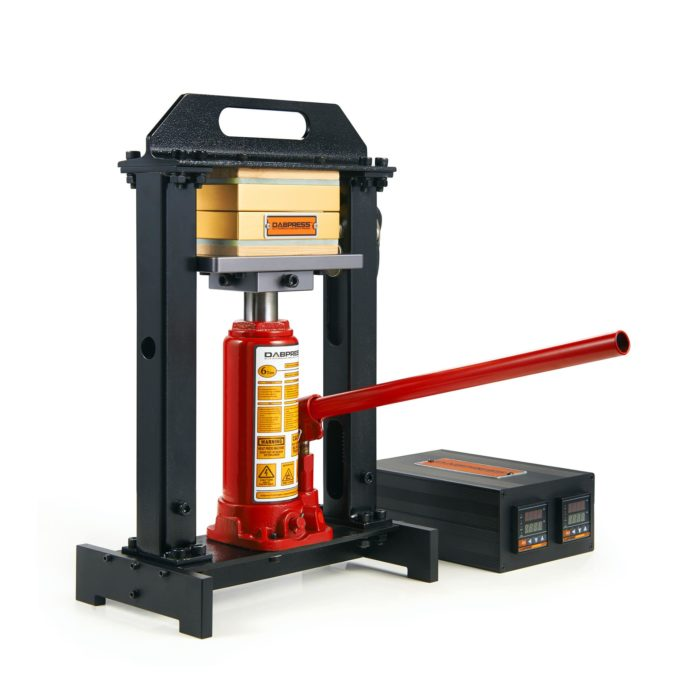 Hydraulic rosin press