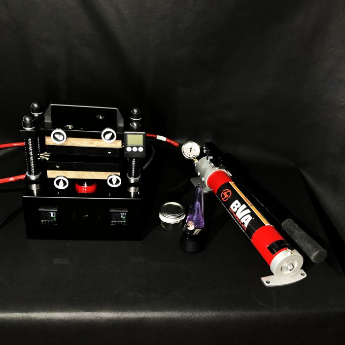Rosin press OG10T with BVA hydraulics